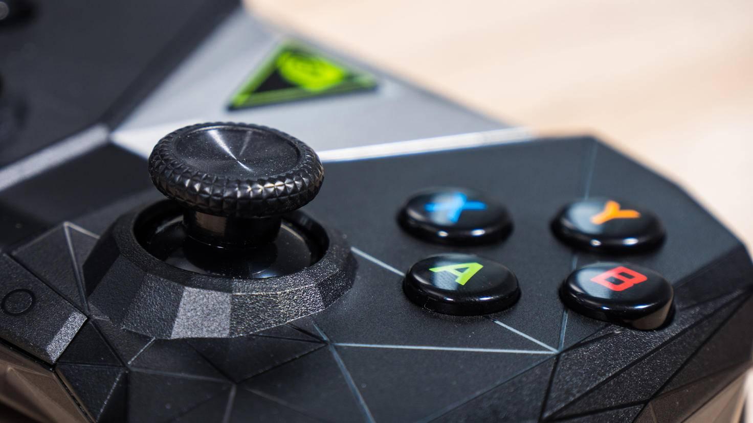 Der Nvidia Shield Controller.