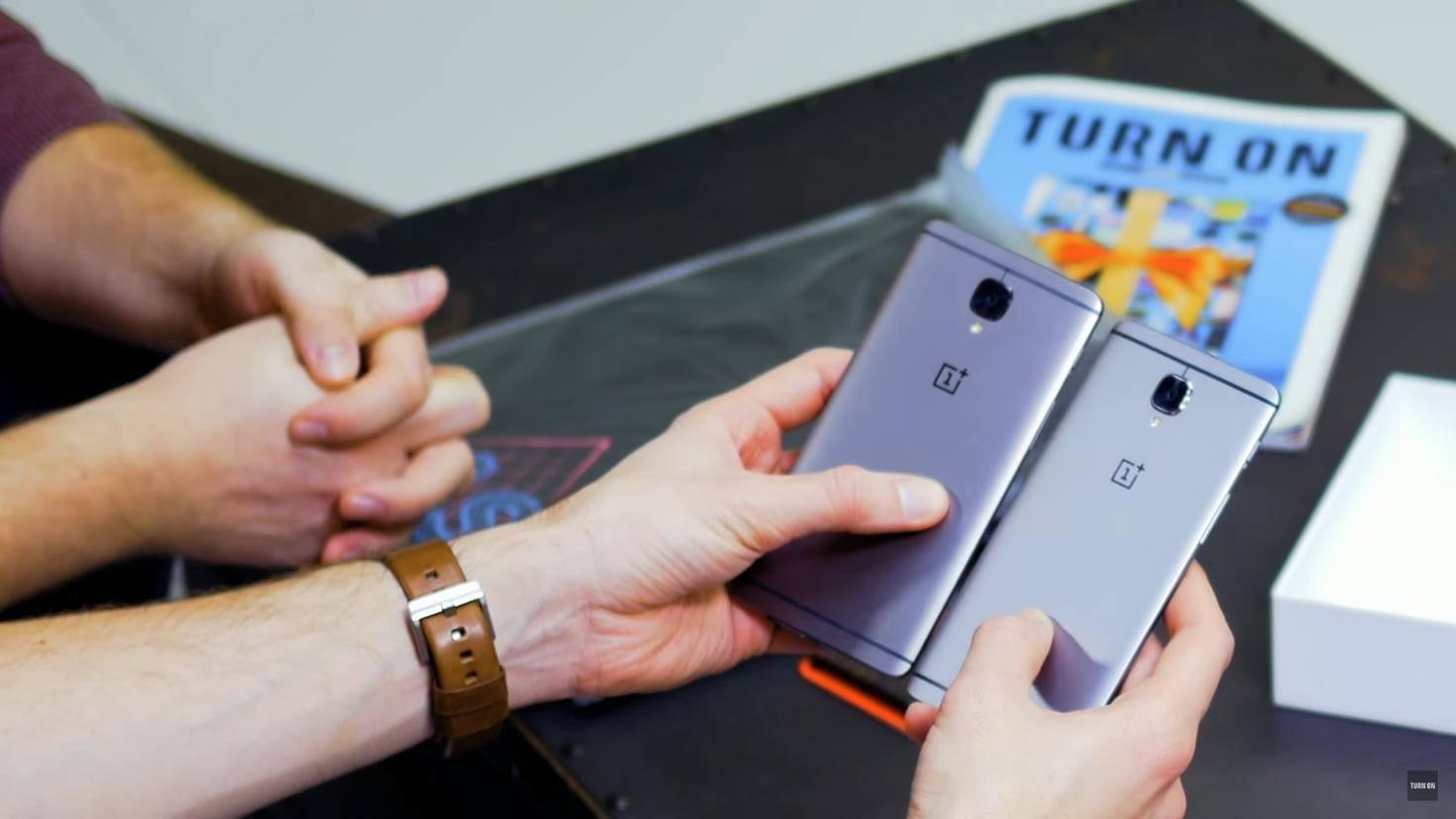 OnePlus 3 OnePlus 3T Turn On