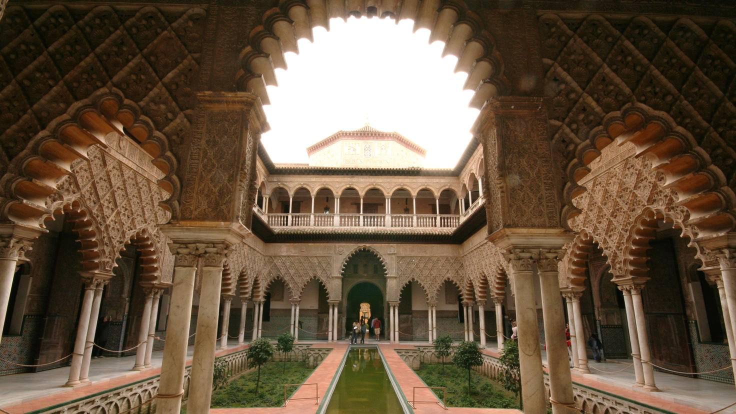 """Die spanische Königsresidenz Alcázar wird in """"Game of Thrones"""" zu den Wassergärten von Dorne."""