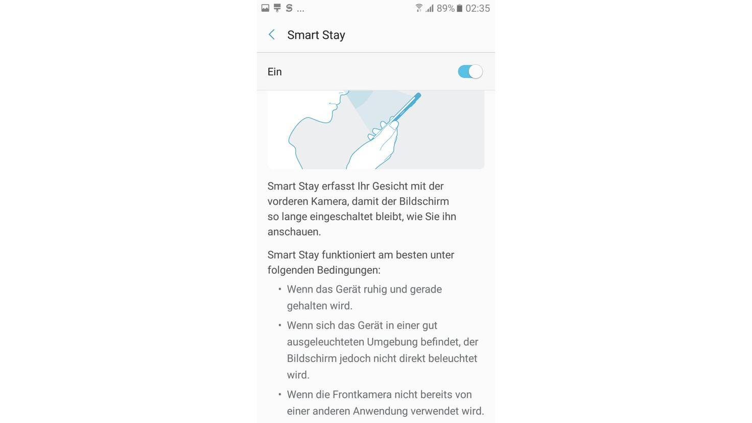 Smart Stay Galaxy A5 2017