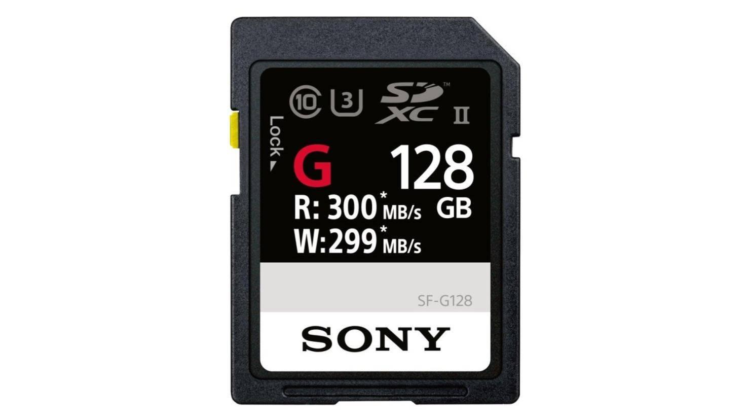Sony SF-G128_WW1-small Speicherkarte SD-Karte