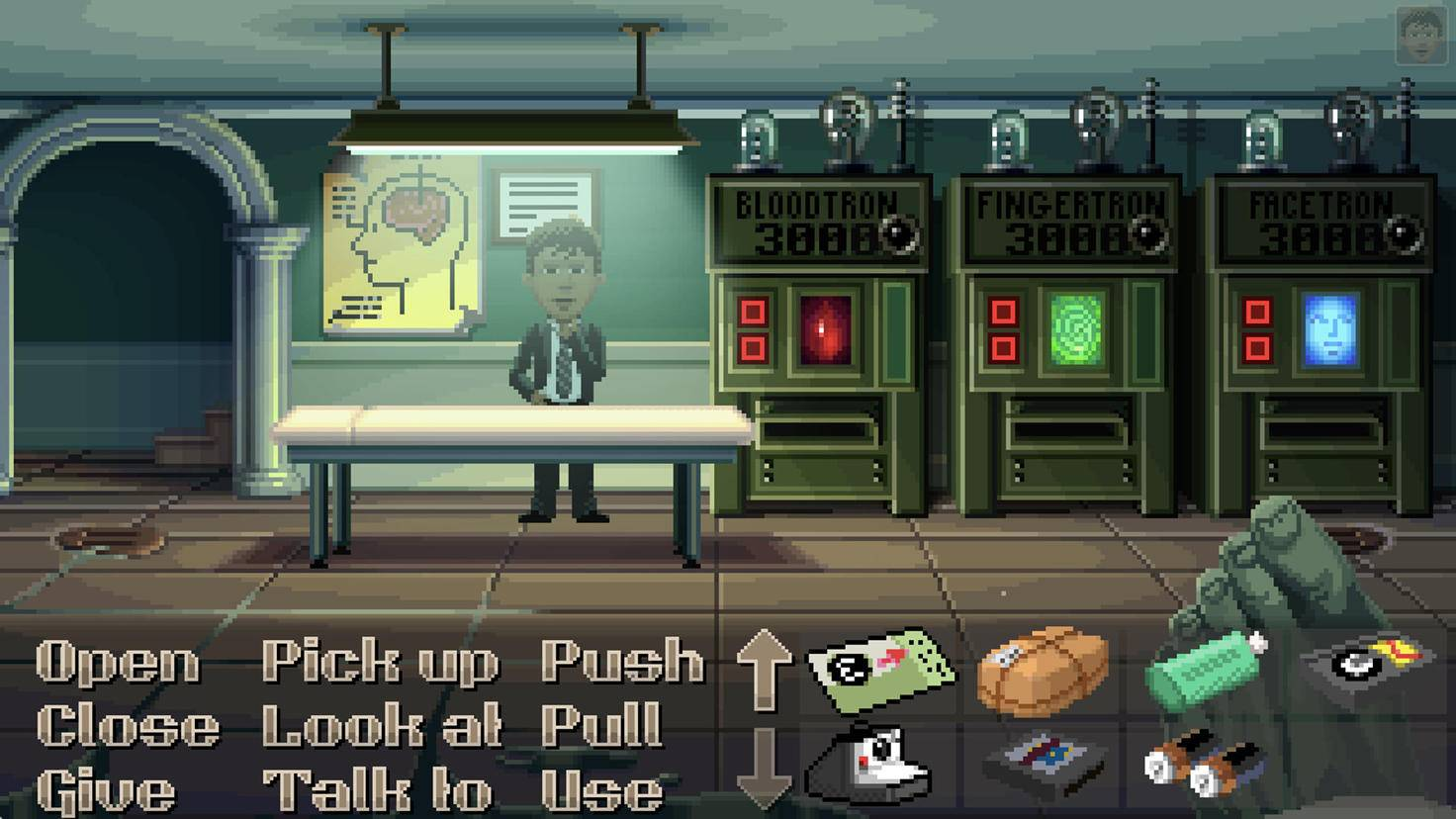Thimbleweed Park Gameplay