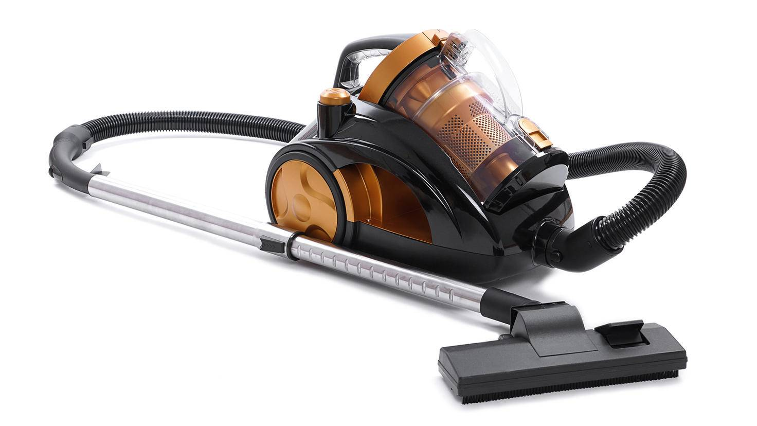 Beutellose Staubsauger nutzen Luftwirbel, um Luft und Staub zu trennen.