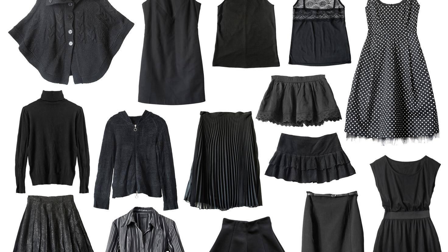 Auch wenn die Werbung etwas anderes behauptet: Schwarze Kleidung braucht kein spezielles Waschmittel.