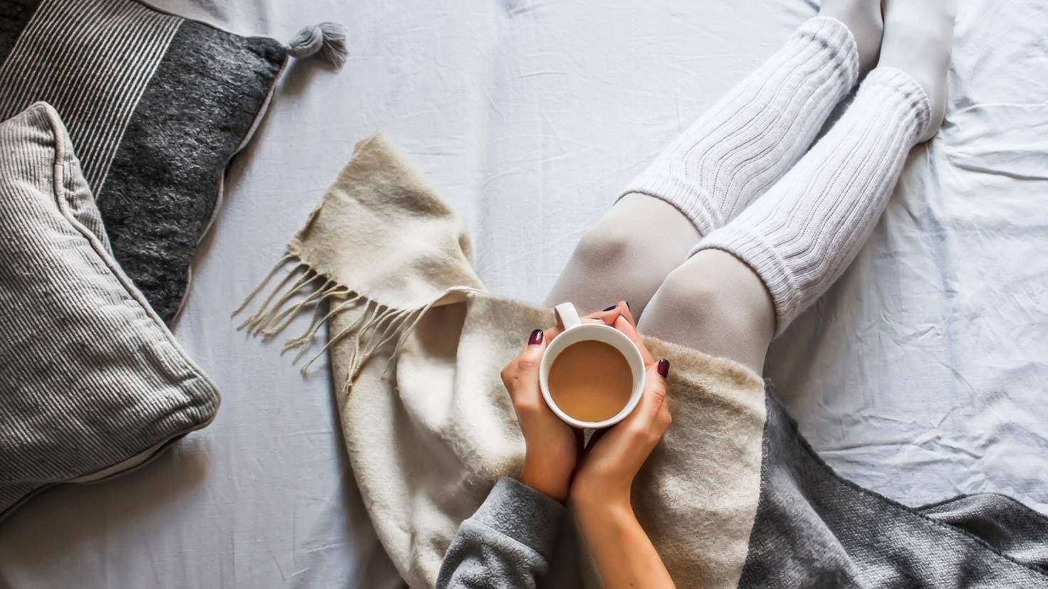 Eine gute Alternative zum übertriebenen Heizen: warme Kleidung. Ist auch gemütlicher.