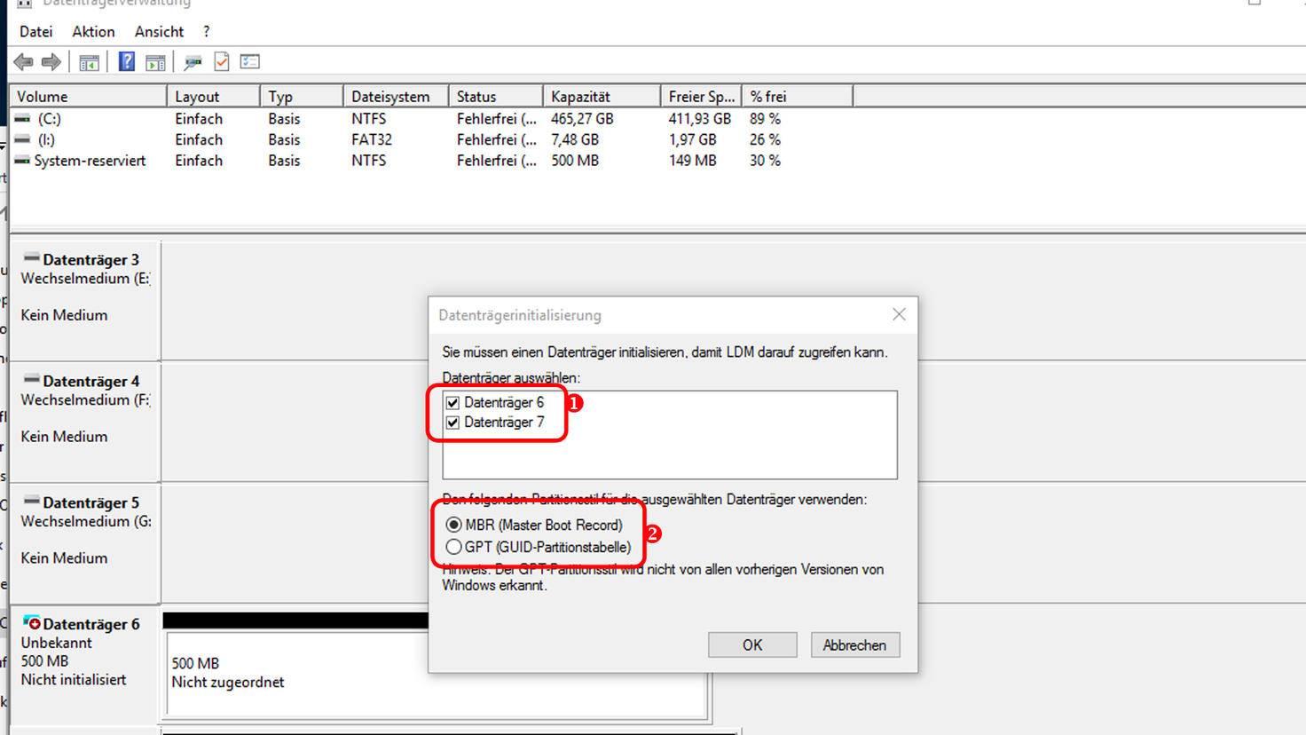Virtuelles Laufwerk in Windows 10
