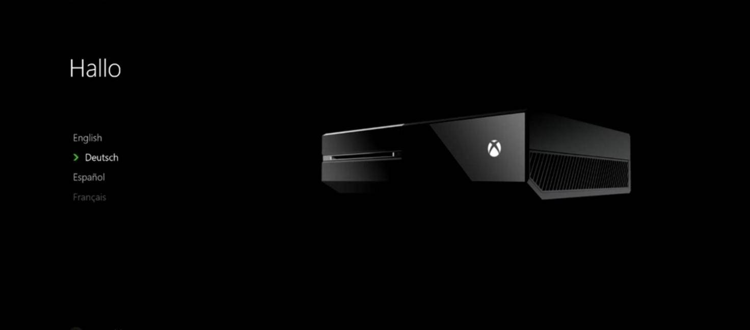 Xbox One Einrichtung 02