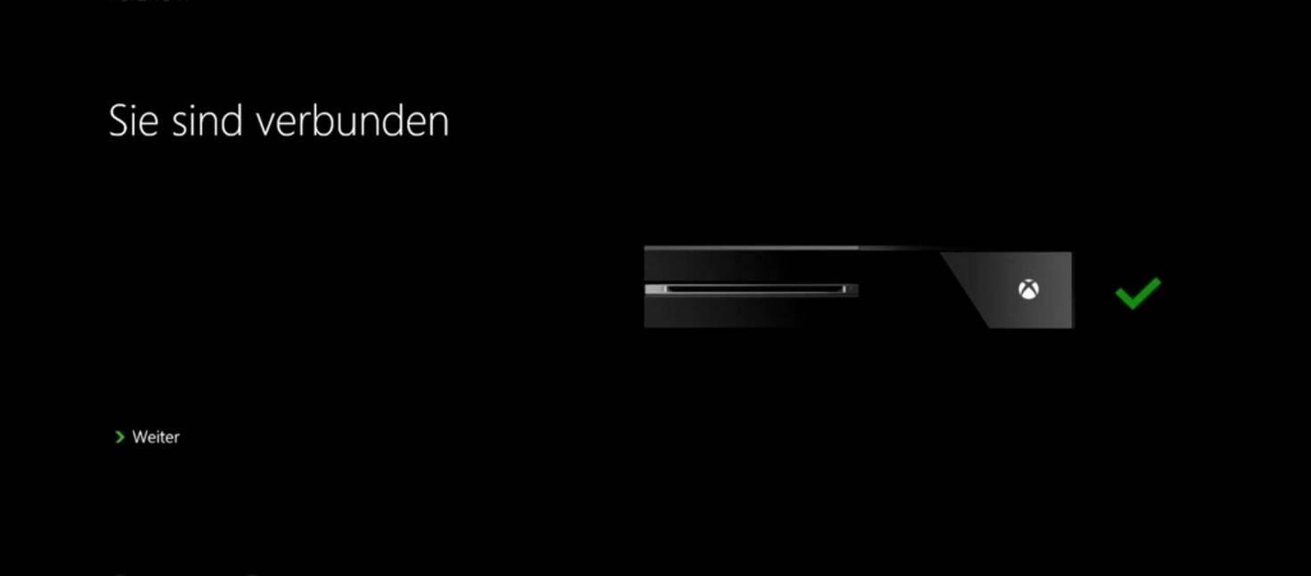 Xbox One Einrichtung 03