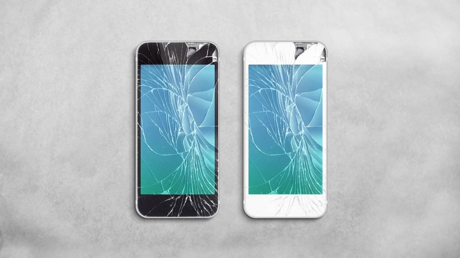 iPhone Display gerissen