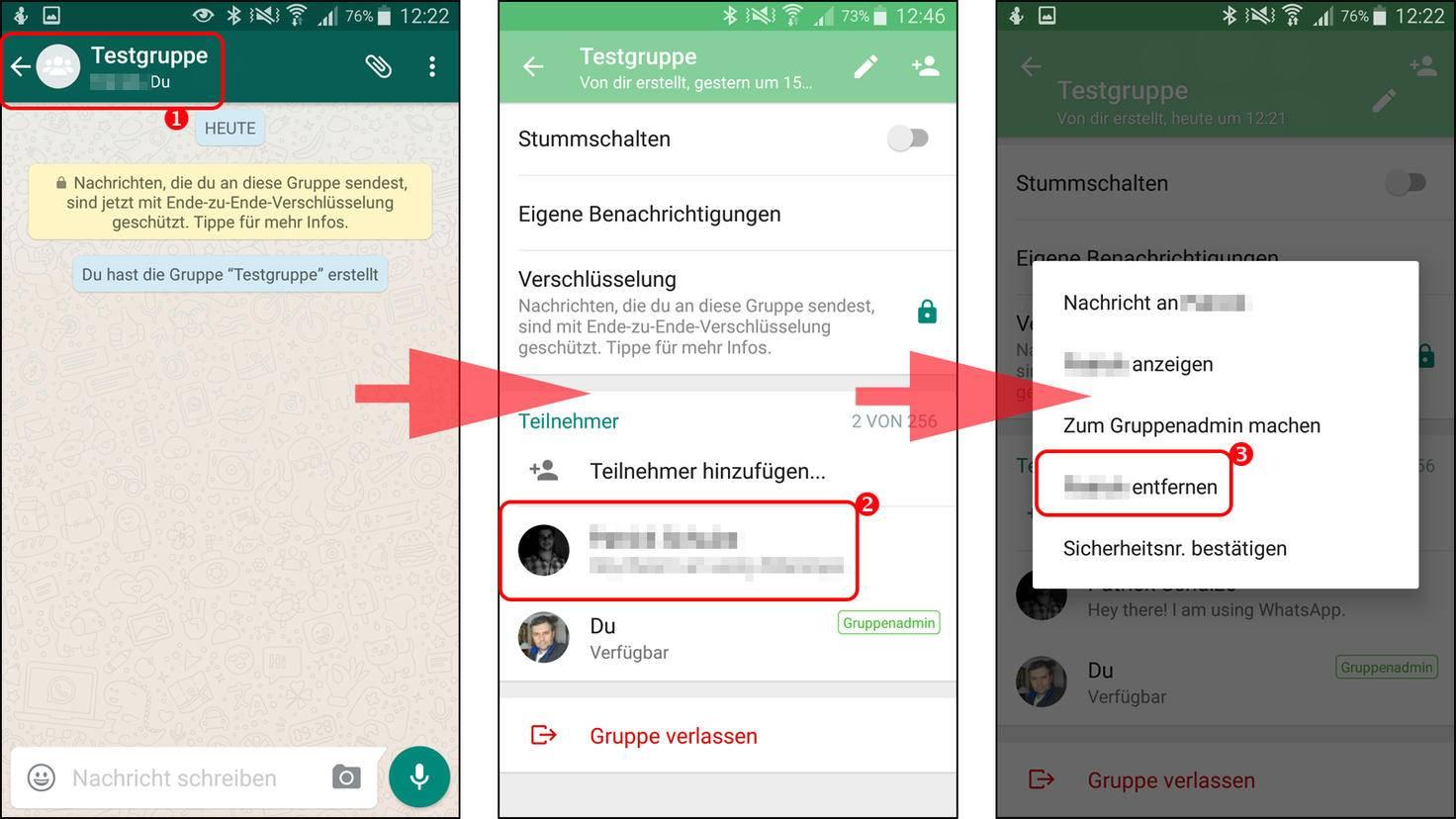 WhatsApp Bilder übertragen