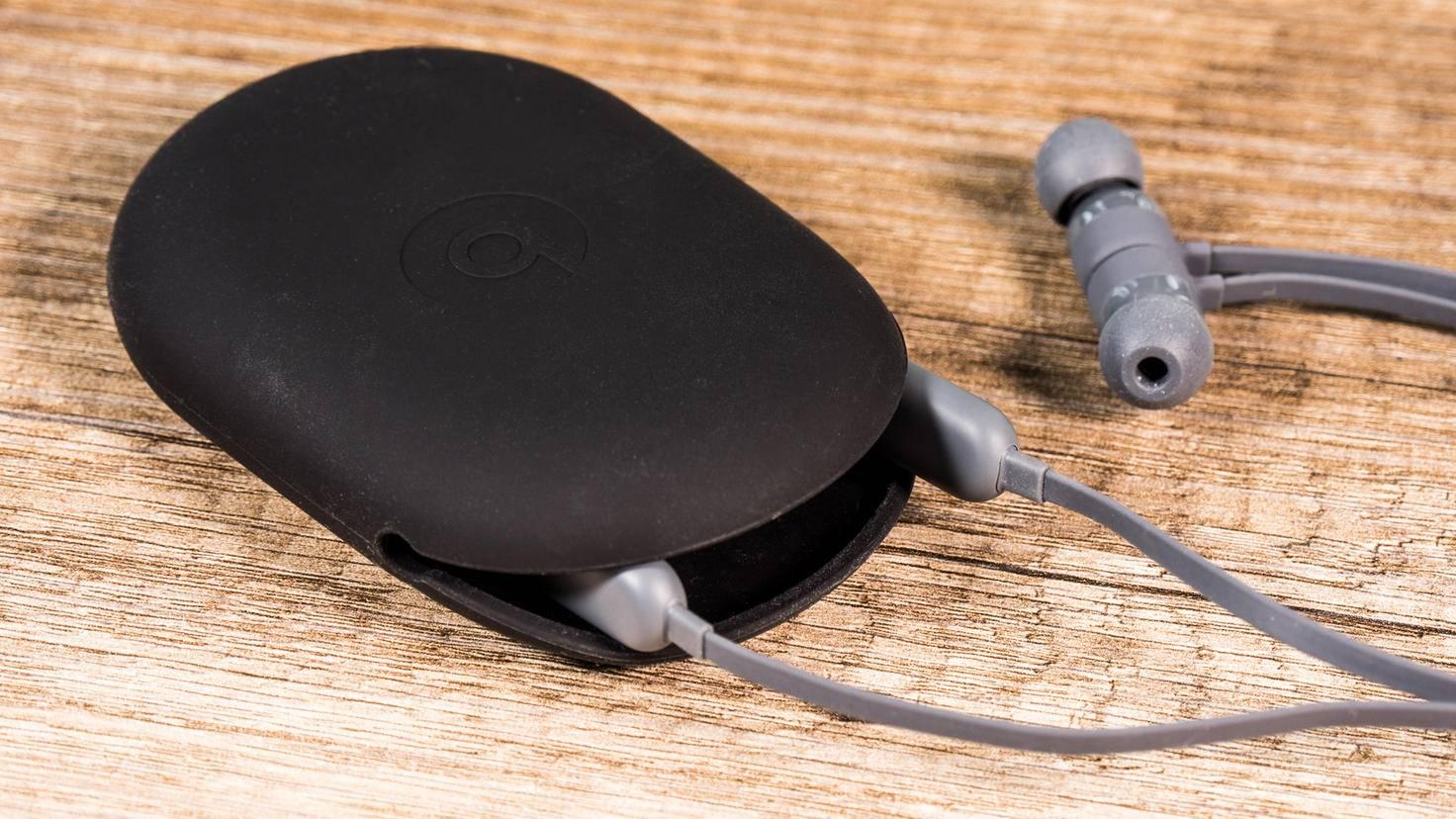 Das Kabel des Beats X ist stabil, aber trotzdem faltbar.