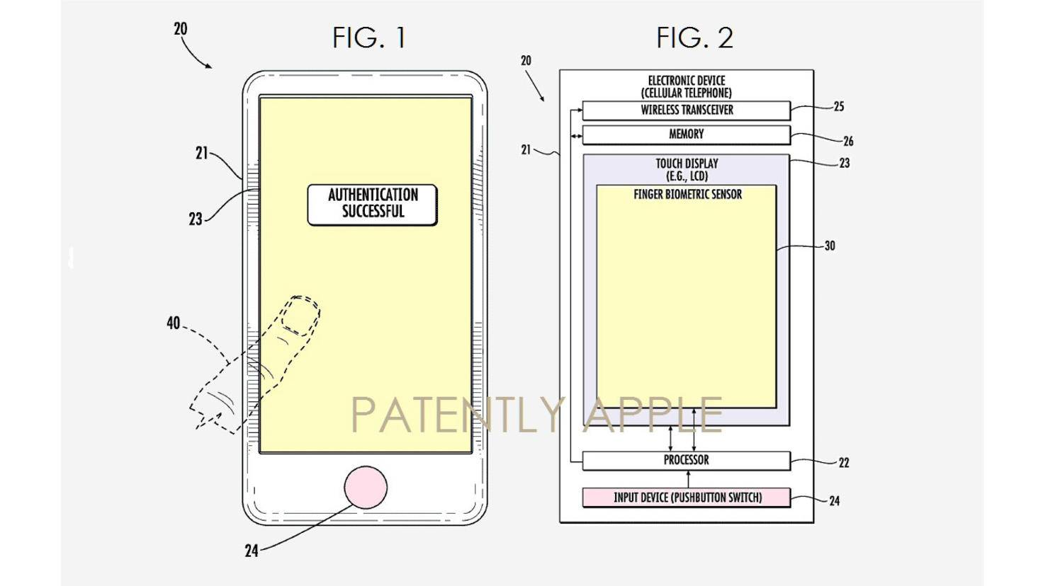 Apple-Patent-Finger