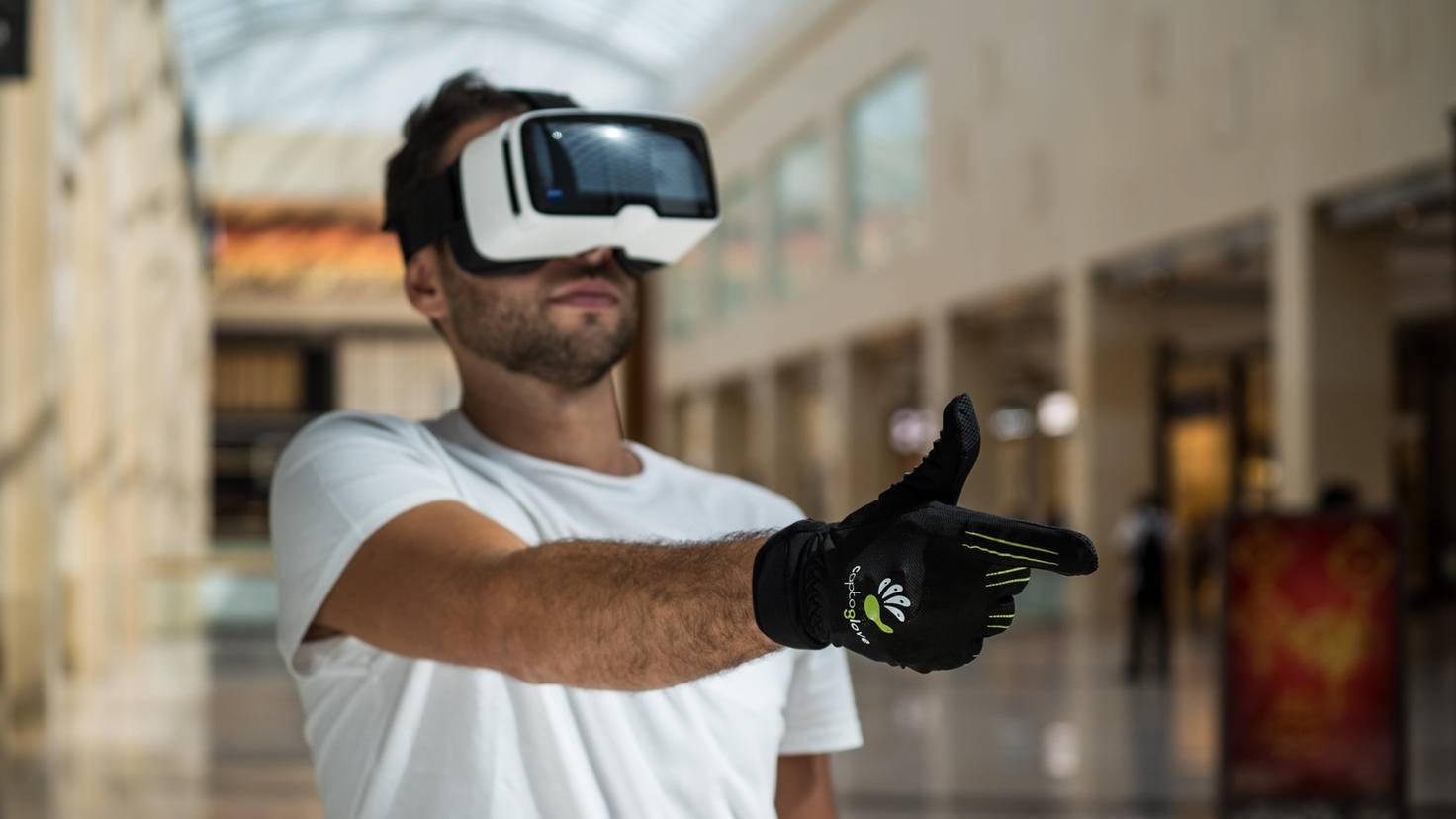 Datenhandschuh CaptoGlove