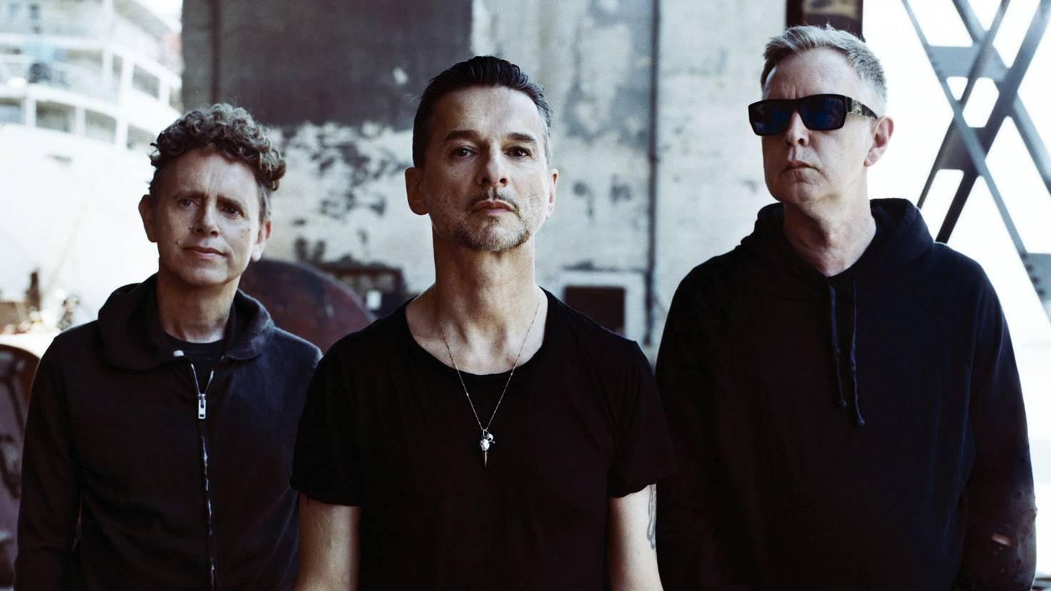 Das britische Kult-Trio besteht aus Dave Gahan (Gesang), Martin Gore (Keyboards, Gitarre, Gesang) und Andy Fletcher (Keyboards).