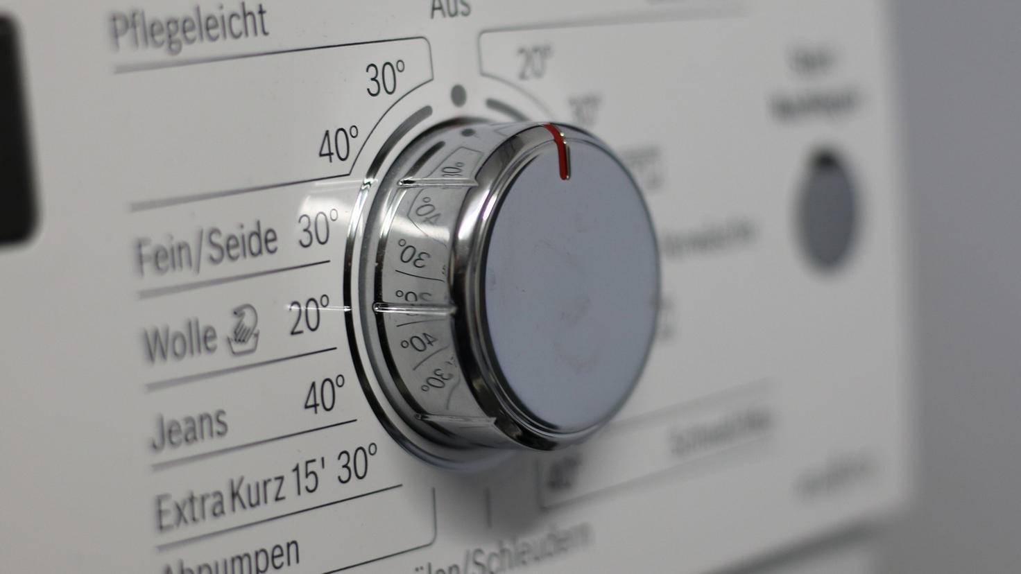 Energie sparen beim Wäschewaschen