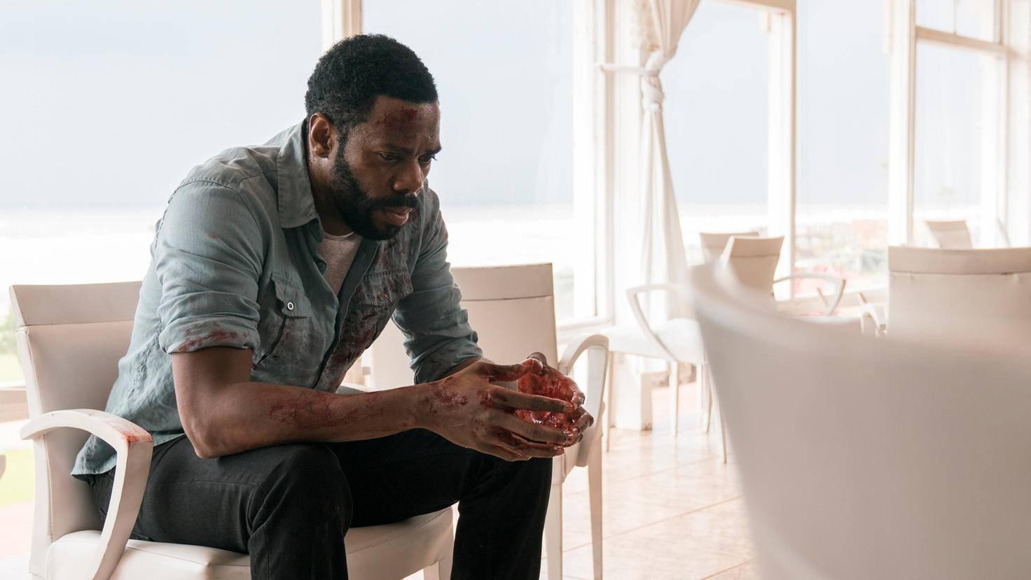 Woher stammt nur all das Blut an Victor Strands (Colman Domingo) Händen?