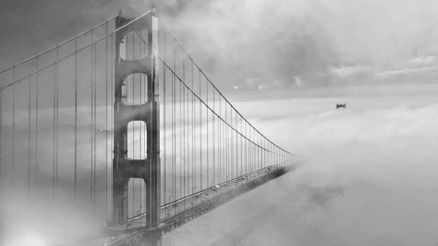 Golden Gate Bridge Nebel
