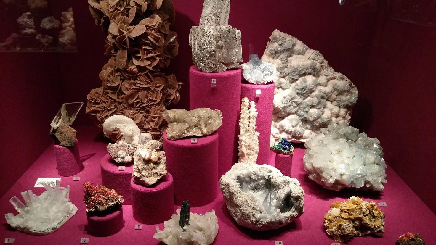 HTC U Play Mineralogisches Museum 3