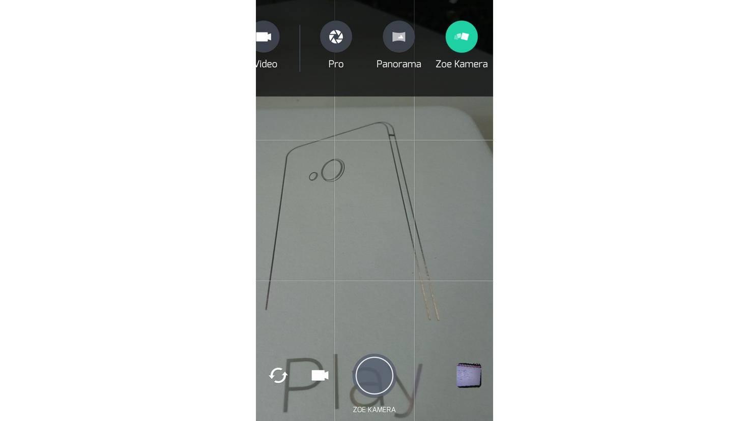 HTC U Play Zoe Kamera