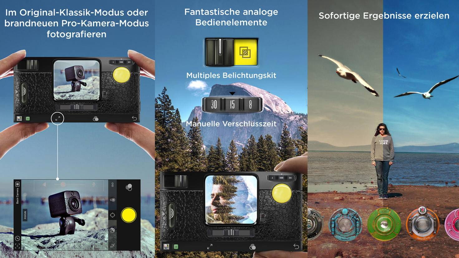 Foto-App Hipstamatic