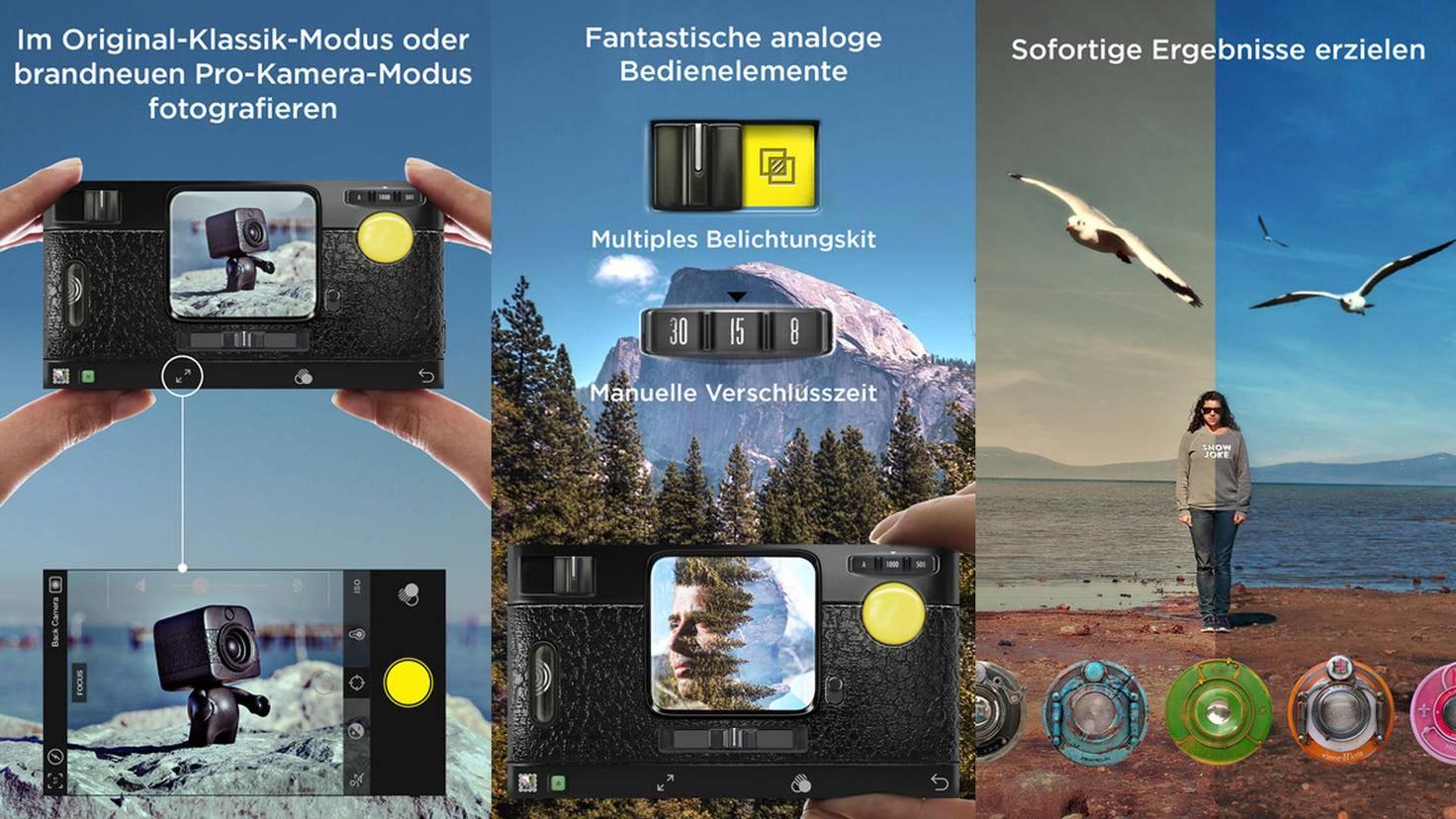 Smartphone-Fotos mit Retro-Flair: 6 Apps für den Vintage-Look