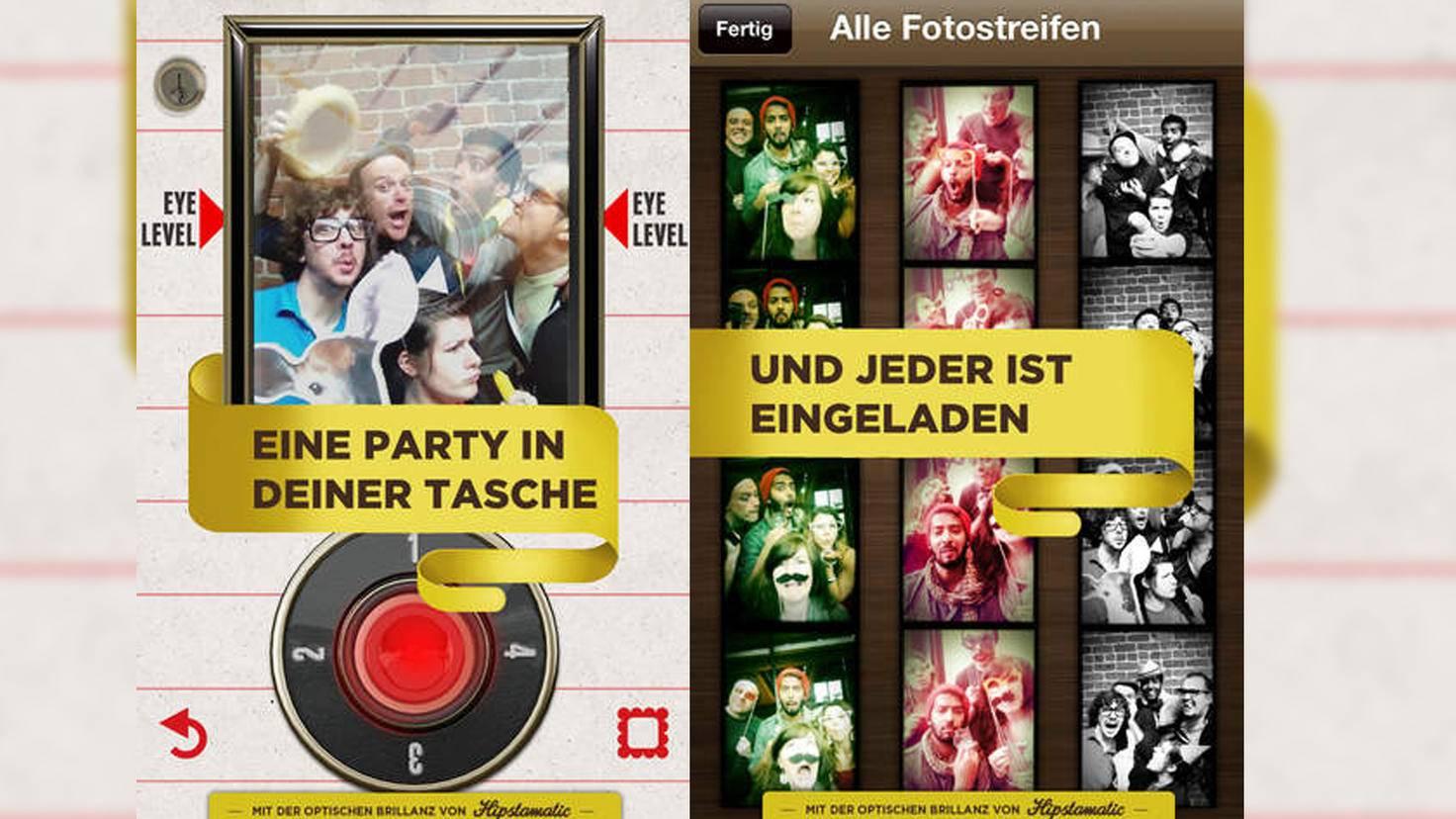 Foto-App IncrediBooth