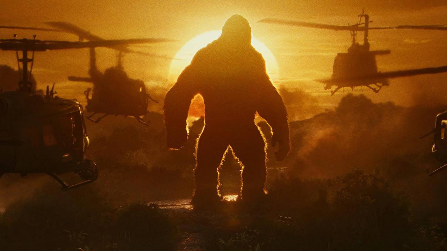 """Groß, größer, King Kong: So groß wie in """"Kong: Skull Island"""" war der Riesengorilla noch nie."""