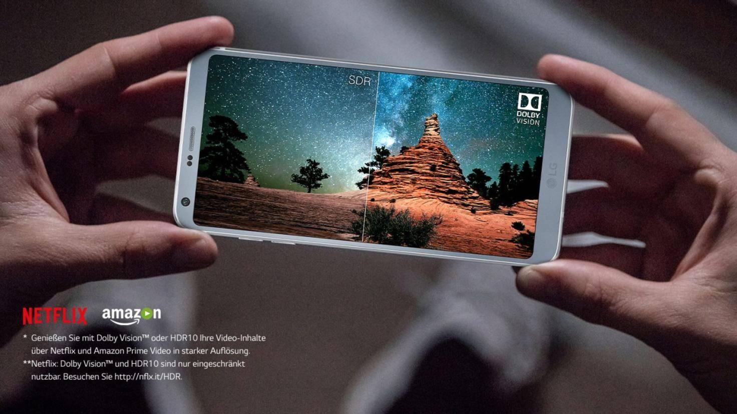 LG G6 Dolby Vision