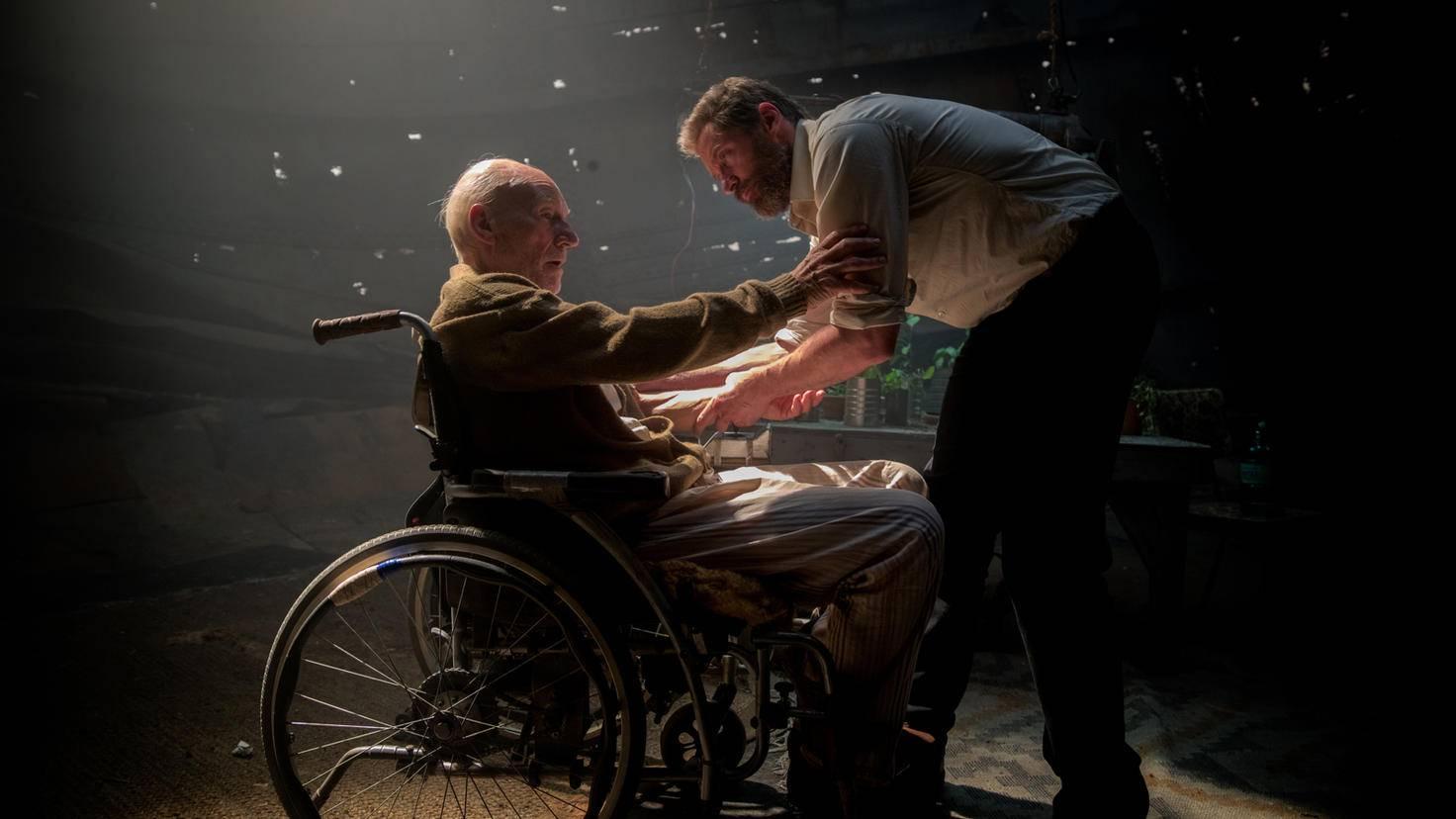 """Professor X sprach in """"Logan"""" mit seinem Schützling über ein ehemaliges Treffen."""