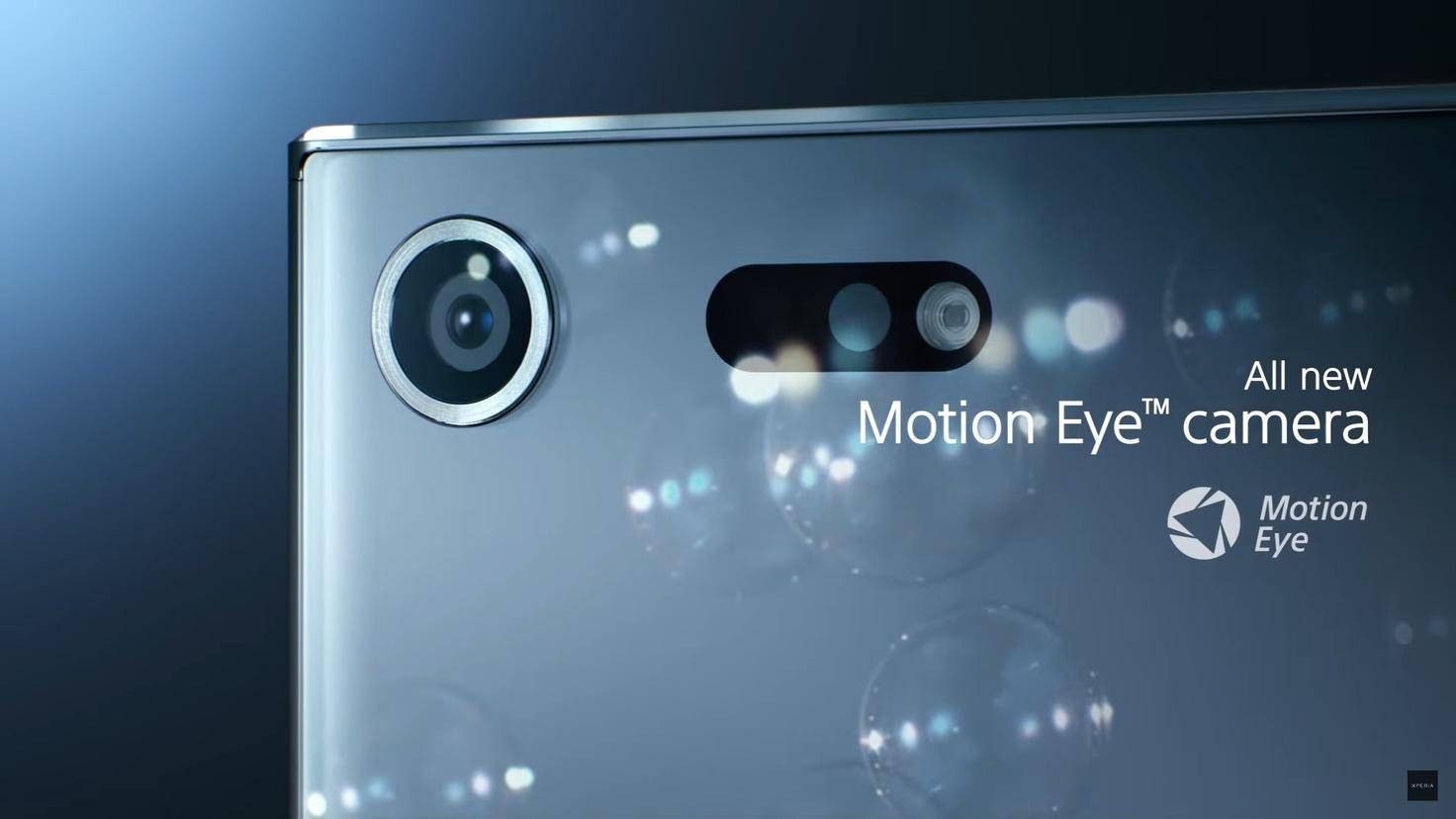 Sony Motion Eye Kamera Xperia XZ Premium