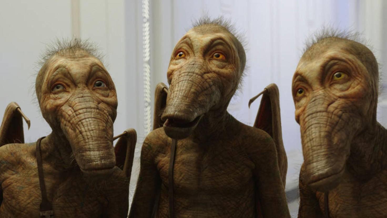 ... – und außergewöhnliche Kreaturen.