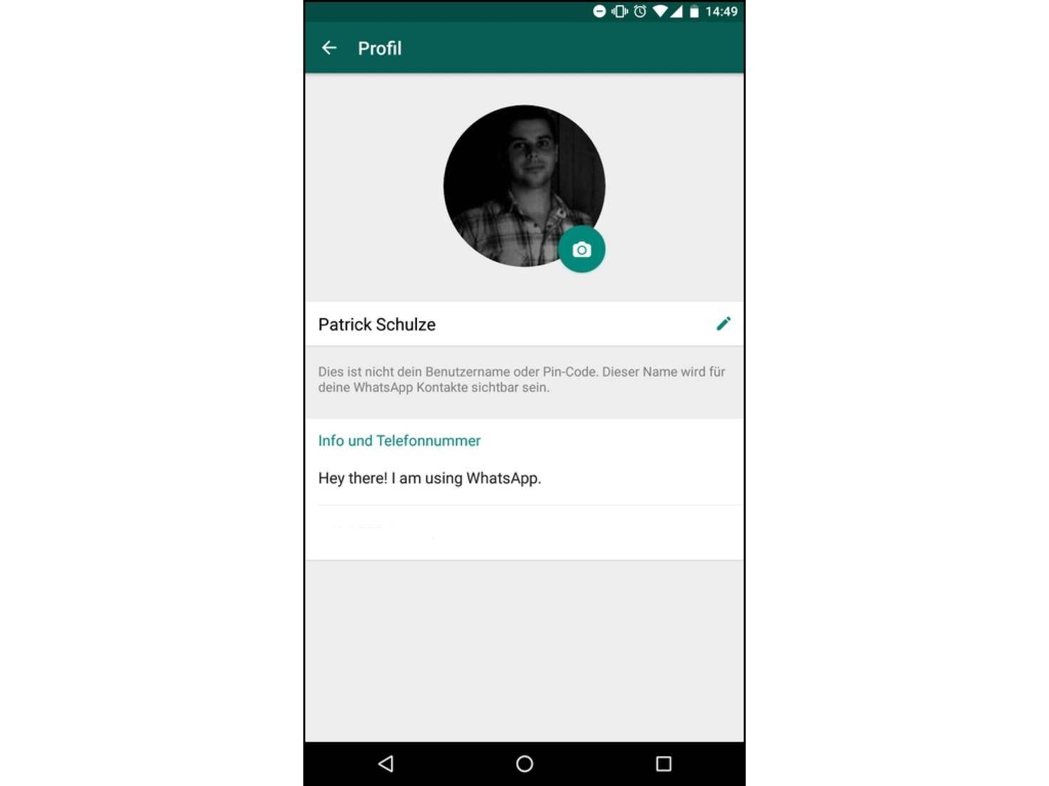 Alten Whatsapp Status In Android Wieder Aktivieren So Gehts