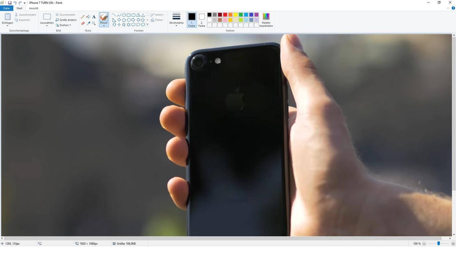 Windows 10 Paint