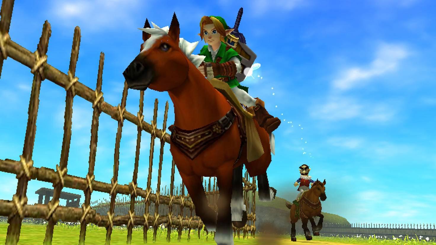 """Treuer Begleiter: Pferd Epona tauchte in """"Ocarina of Time"""" erstmals auf."""