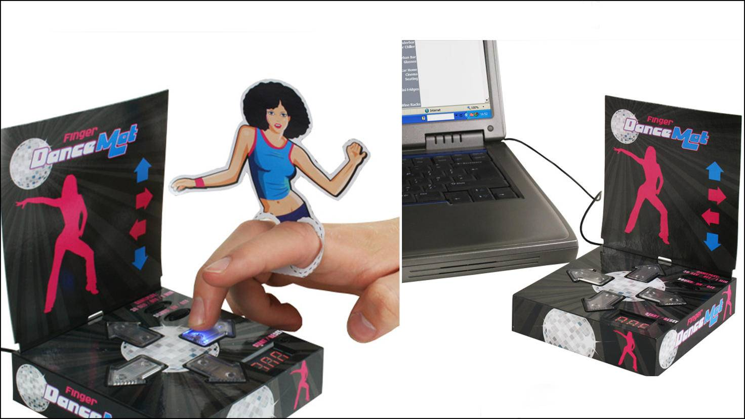 USB Finger Dancemat