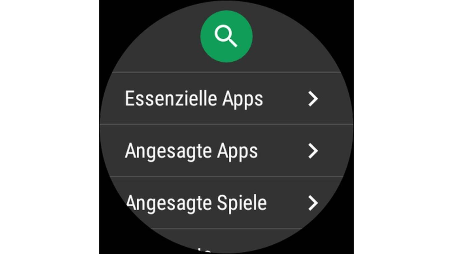 Android Wear 2.0 Play Store
