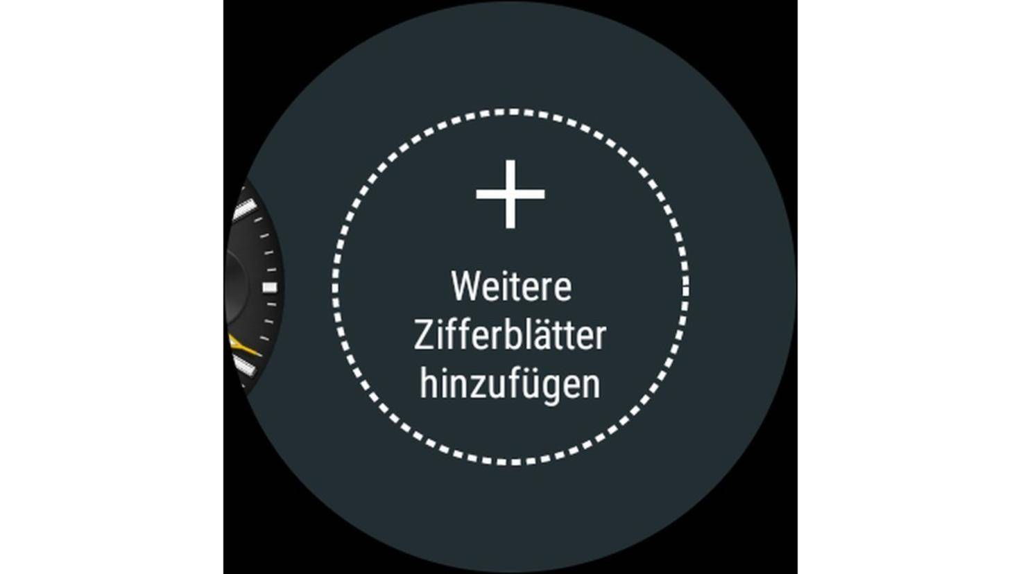 Android Wear 2.0 Ziffernblätter