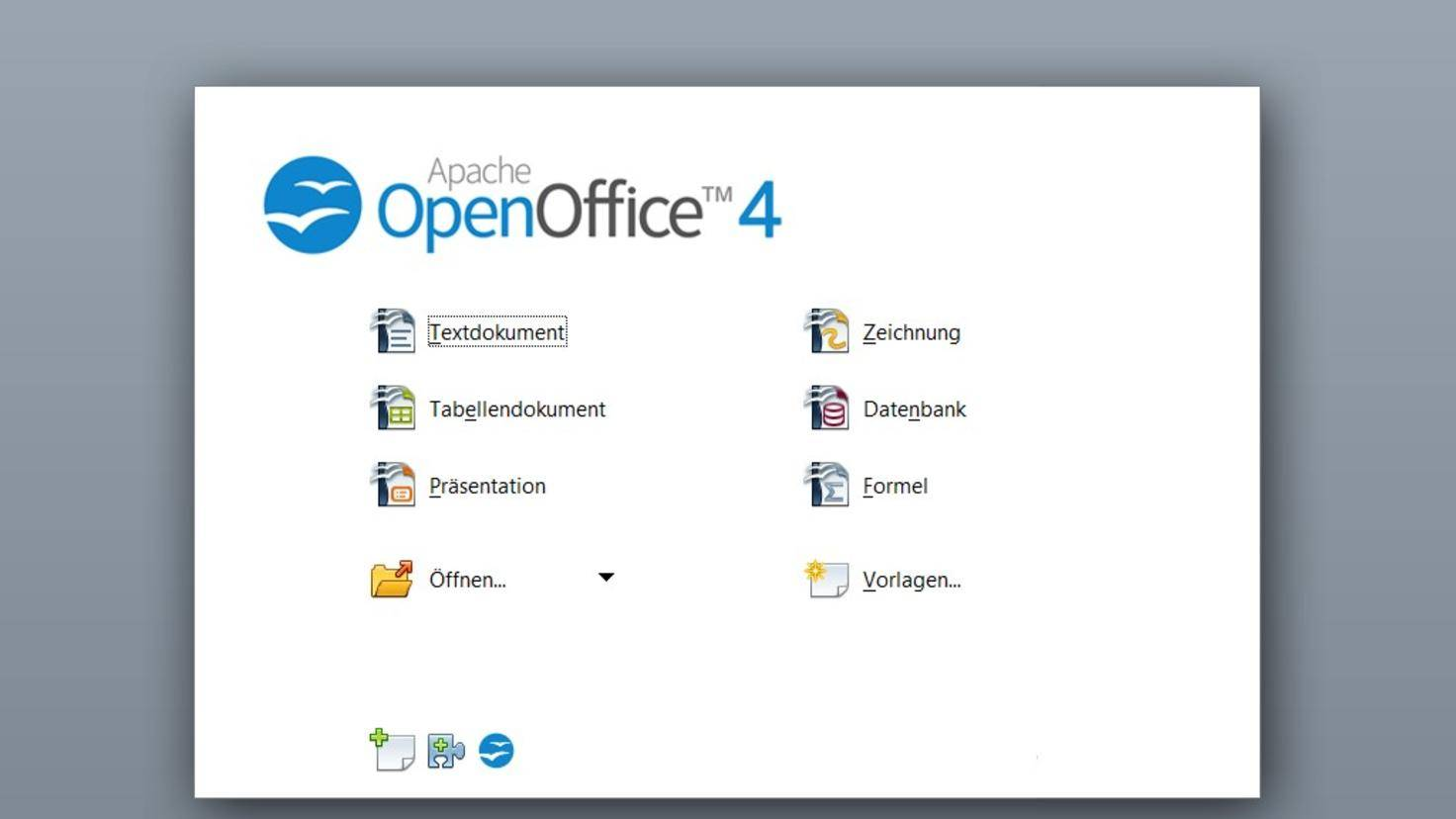 Apache Open Office 4