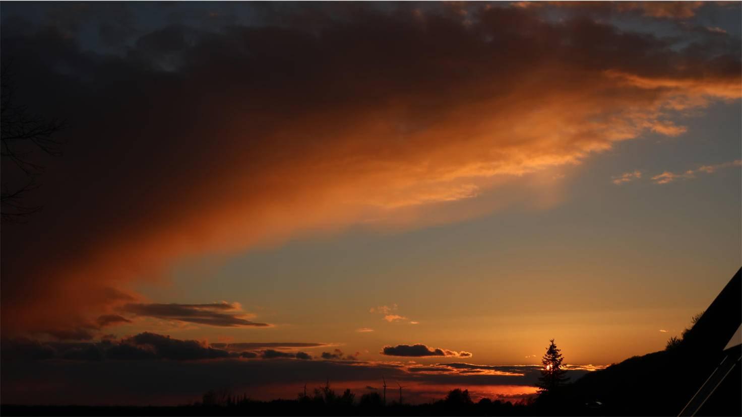 Eindrucksvolle Aufnahmen vom Sonnenuntergang sind kein Problem.