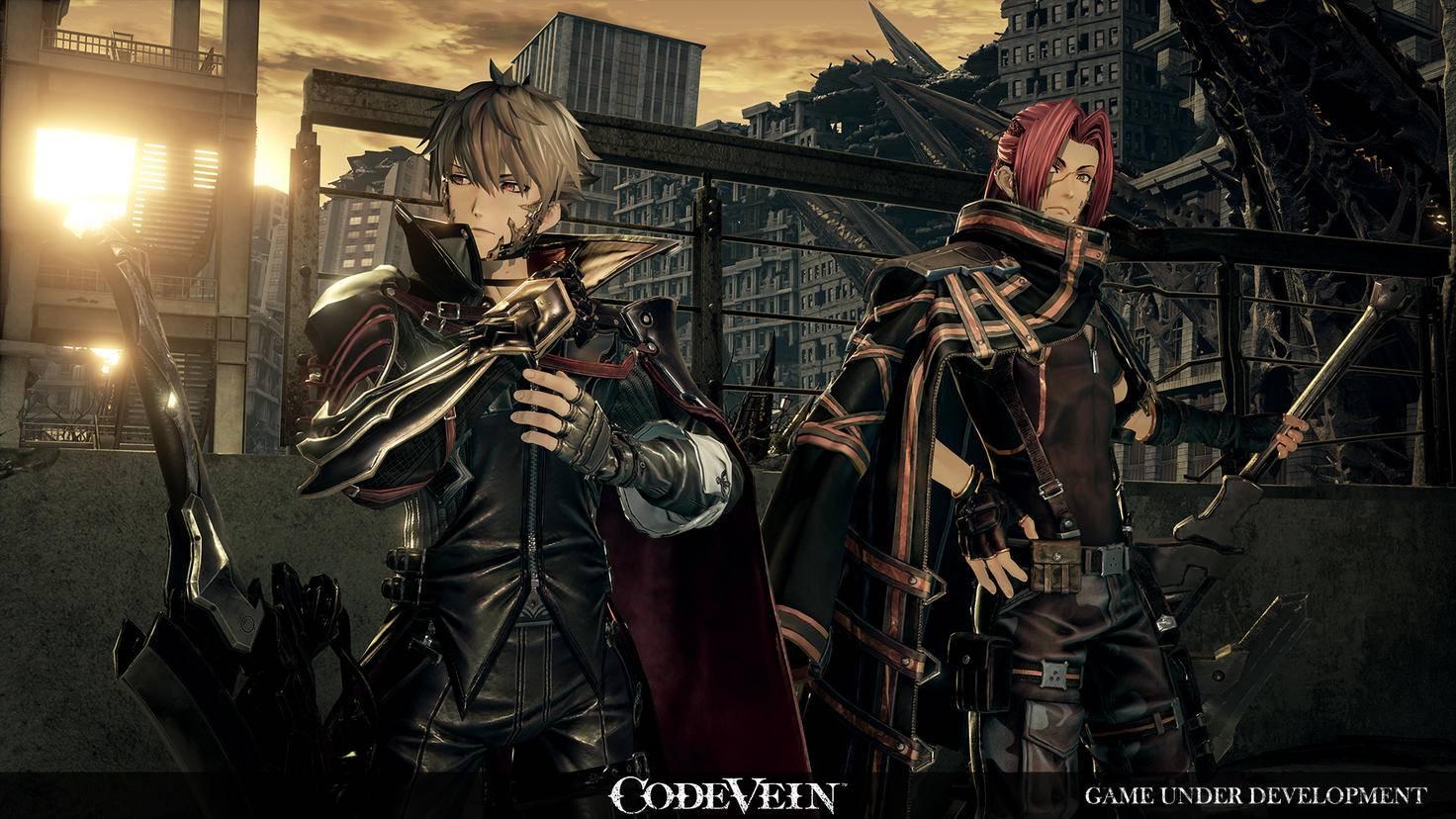 """Vampire sind die Hauptfiguren in """"Code Vein""""."""