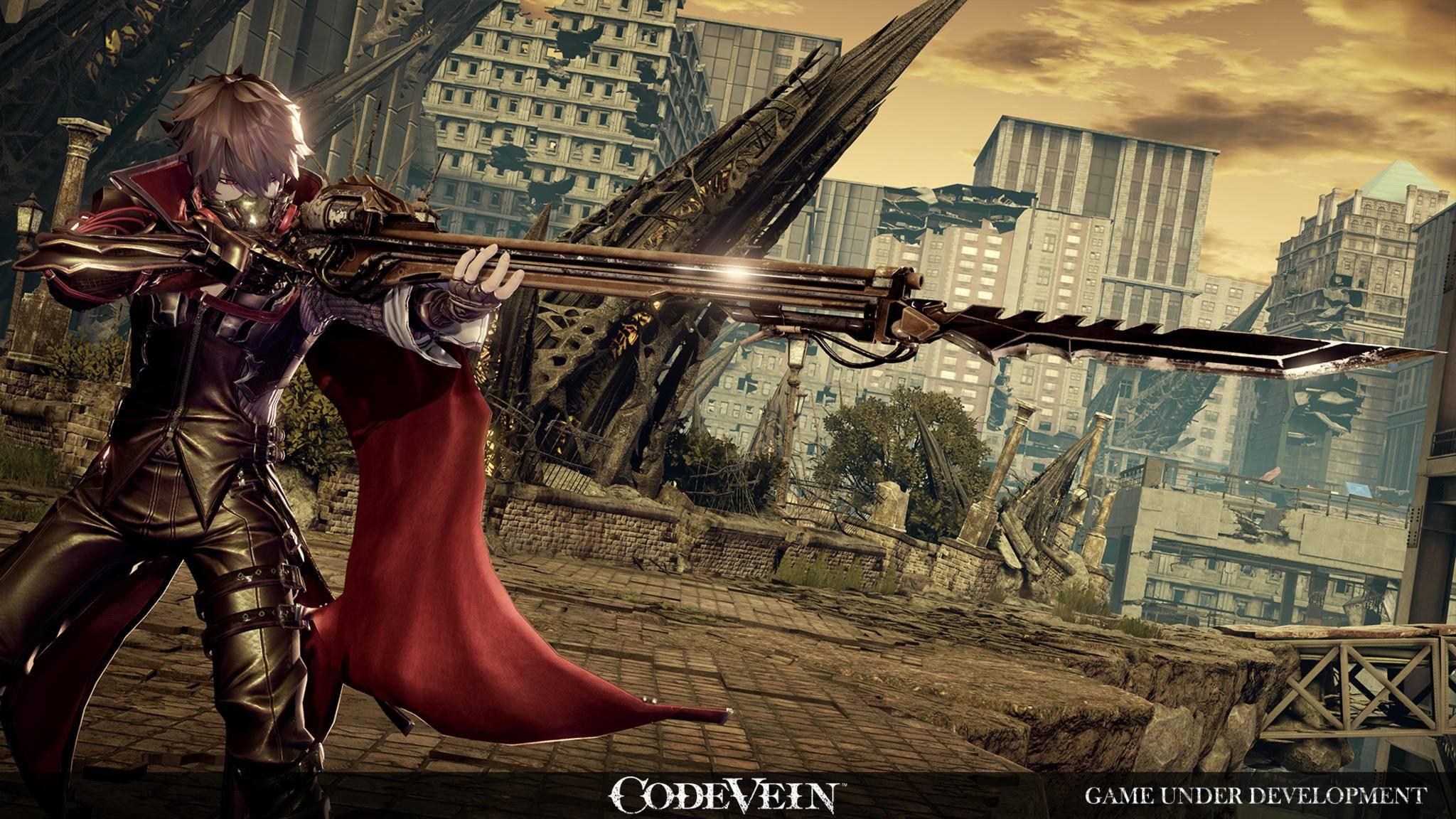 Auch übergroße Fantasy-Waffen...