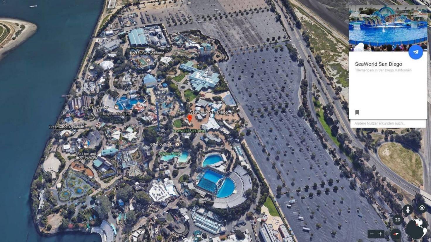 Google Earth Sea World