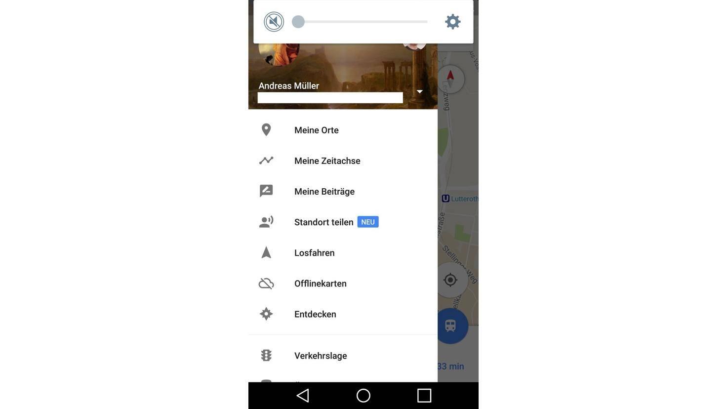 Google Maps Meine Orte