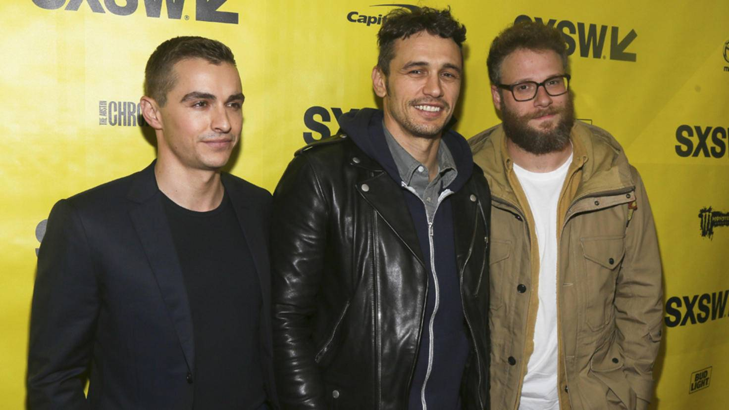 James Franco_Dave Franco_Seth Rogen_picture alliance AP Photo_88974263