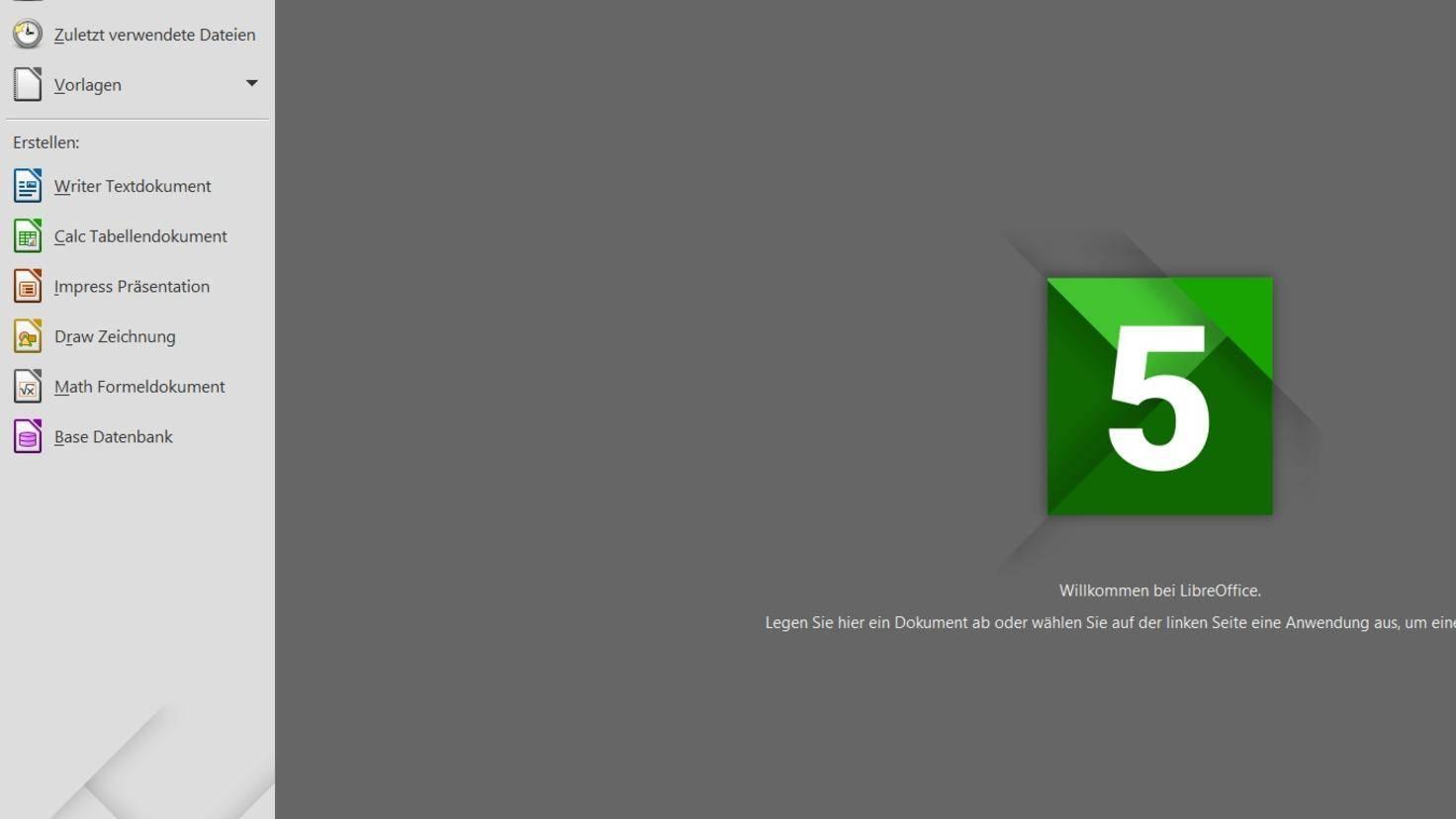 Libre-Office-Programme
