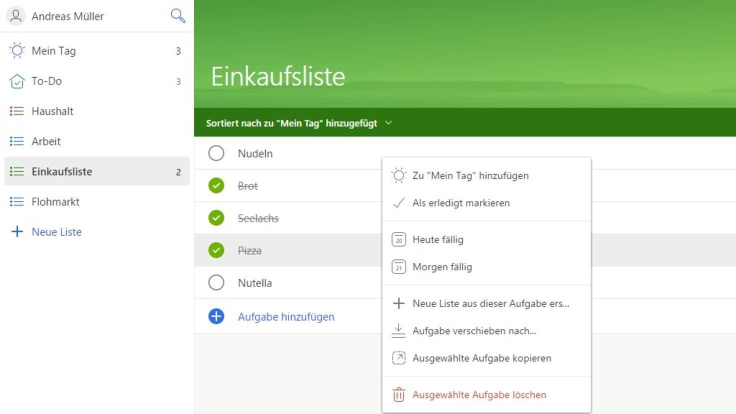Microsoft-To-Do-Aufgaben-abhaken