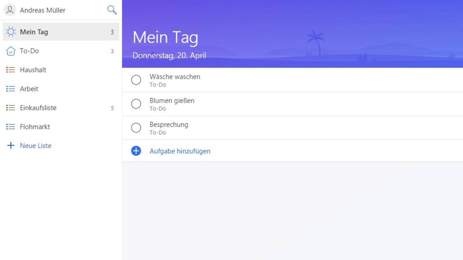 Microsoft-To-Do-Mein-Tag