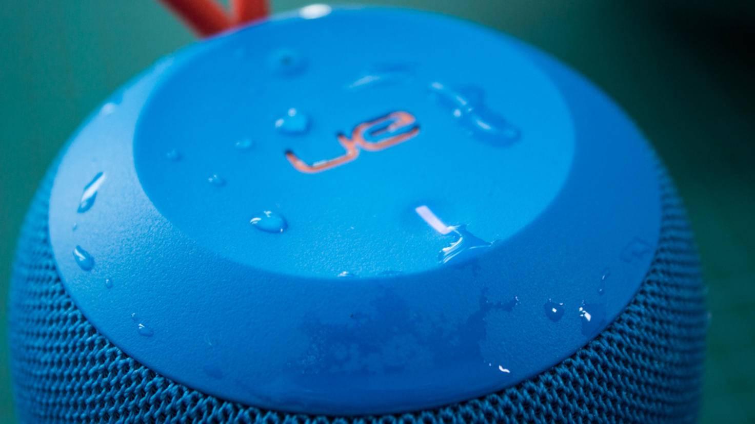 Auch Wasser kann dem Wonderboom nichts anhaben.