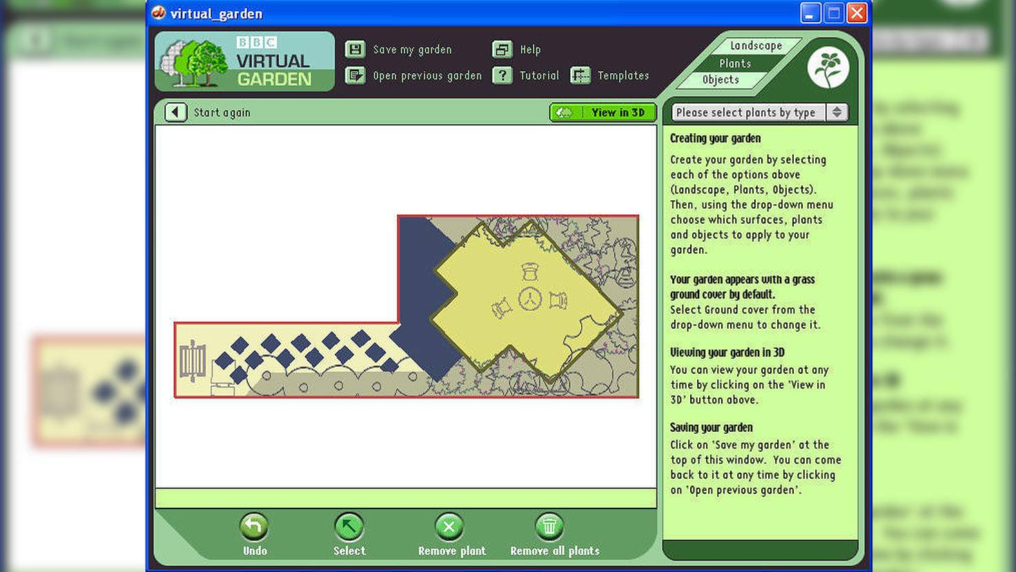 Virtual Garden-BBC