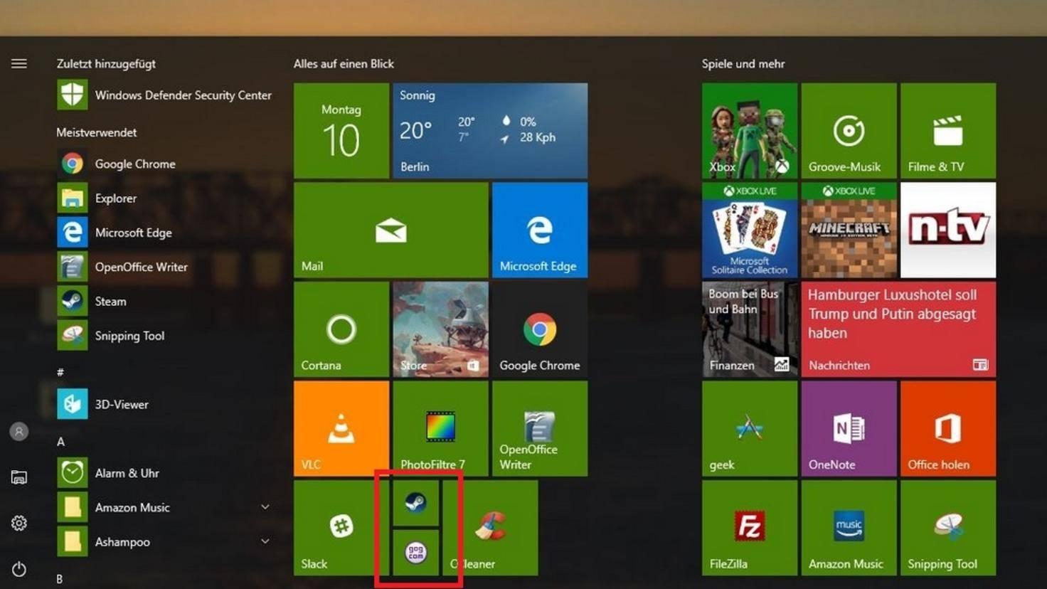 Windows 10 Ordner Start 01